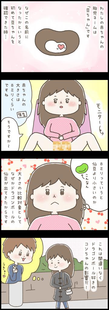 妊娠 漫画 ブログ 妊婦 マタニティ 育児 出産 イラスト 胎児ネーム